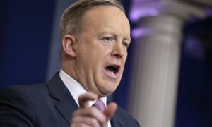 White House press secretary Sean Spicer accused the press of misrepresenting the inaugural crowd.