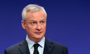 French Economy and Finance Minister Bruno Le Maire.