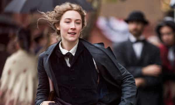 Saoirse Ronan as Jo March in Little Women.