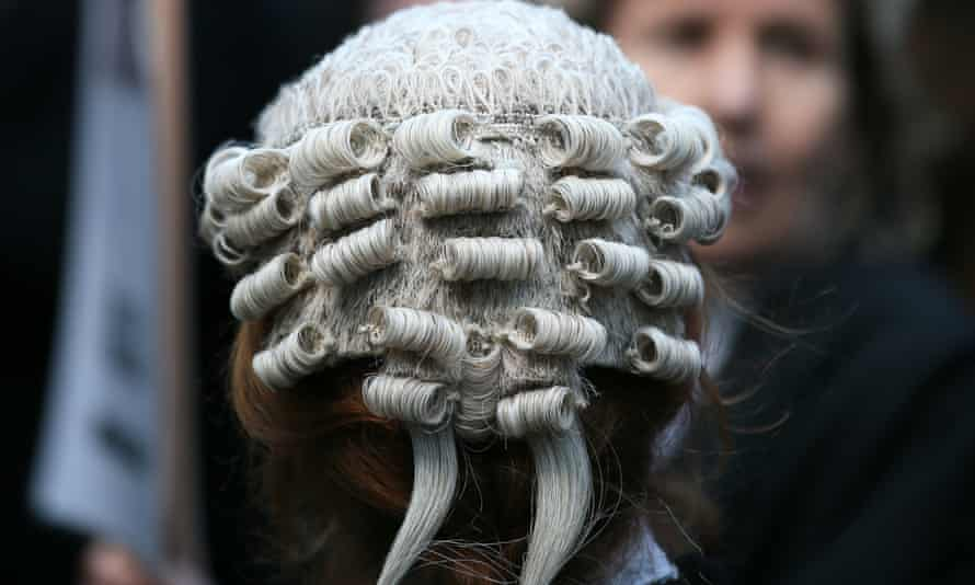 Barrister in London