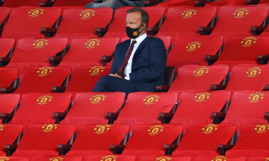 """Ed Woodward: 'You should've seen me in there""""."""