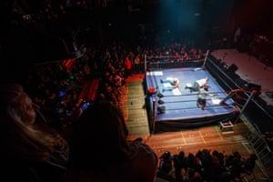 The ring at Night Massacre.
