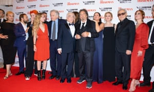The Irishman film premiere at the 2019 London film festival. This year's festival will host a lot of films online.