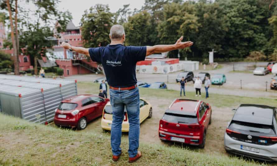 A Berlin-Brandenburg Electric car rally