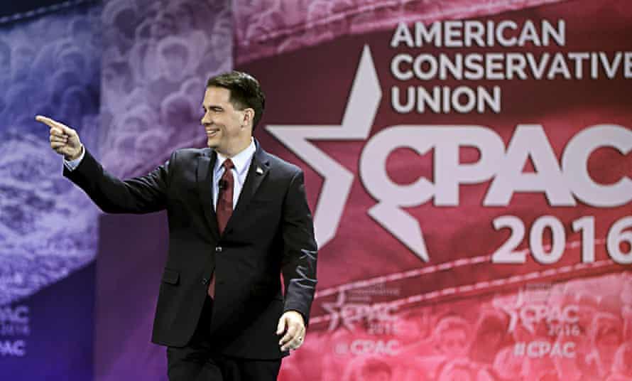 CPAC Scott Walker conservatives Republicans
