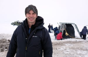 Brian Cox in his 2014 series The Human Universe