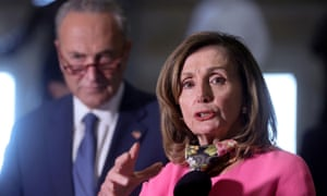 Nancy Pelosi will resume talks with treasury secretary Steve Mnuchin to continue coronavirus relief bill negotiations.