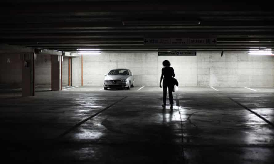 A reported 62% of women are scared of walking in multistorey car parks