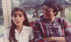 'We must not forget the joys' … Gulati and her mum, Asha