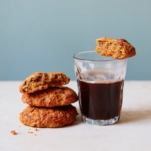 Liam Charles' carrot and parsnip compost cookies, using up the entire vegetable.