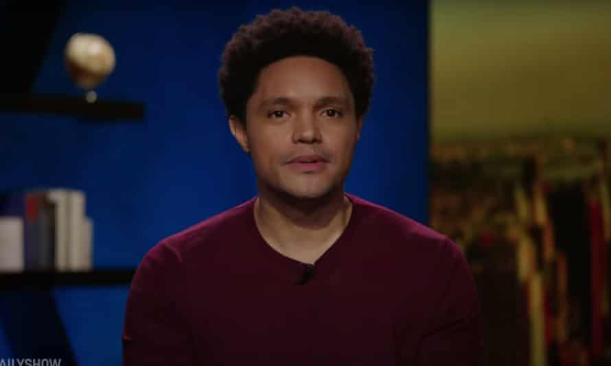 """Trevor Noah on Biden administration's vaccination mandates: """"Mandates by their nature build resistance. And if Biden's gonna be doing that, I hope he is ready for what's going to happen, because mandates turn 'I don't knows' into 'fuck you's."""""""