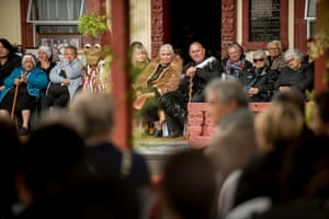 During ceremony the Iwi inaugurated Dame Tariana Turia and Turama Hawira as the two voices of the river