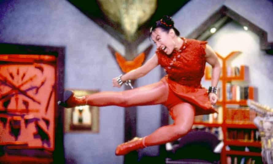 Ming-Na Wen as Chun-Li in Street Fighter: The Movie.