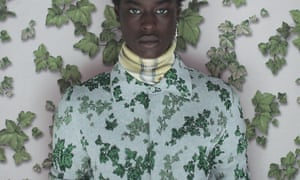 Ivy prints and polo necks featured in the spring/summer collection.