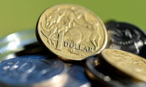 The Australian dollar has fallen to 10-year lows