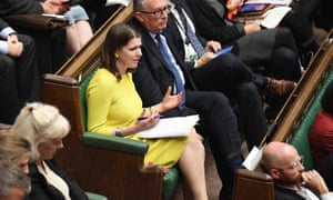 Jo Swinson in the House of Commons this week.