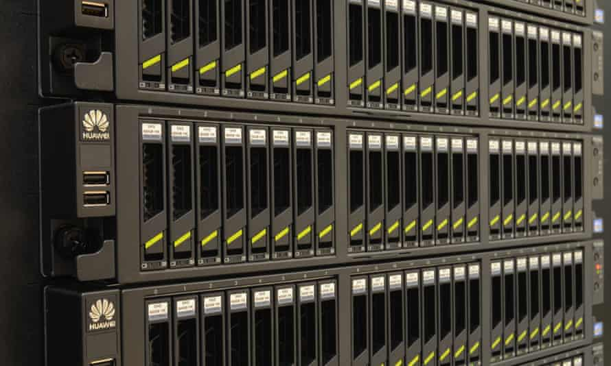 Huawei's servers