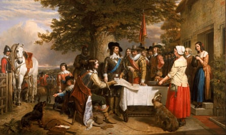 The Eve of the Battle of Edge Hill by Charles Landseer.