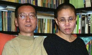 Liu Xiaobo and his wife Liu Xia in a photo taken in 2002.