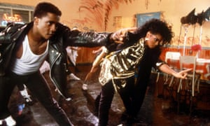 Jackson dancing in the video for What Have You Done for Me Lately?, from 1986's Control.