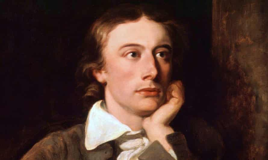 'His reputation will continue to rise' … detail from portrait of John Keats by William Hilton, oil on canvas, 1822.