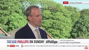 Dominic Raab on Sky News