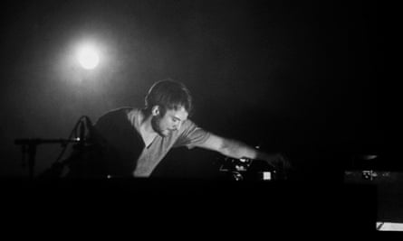 Frahm performing live
