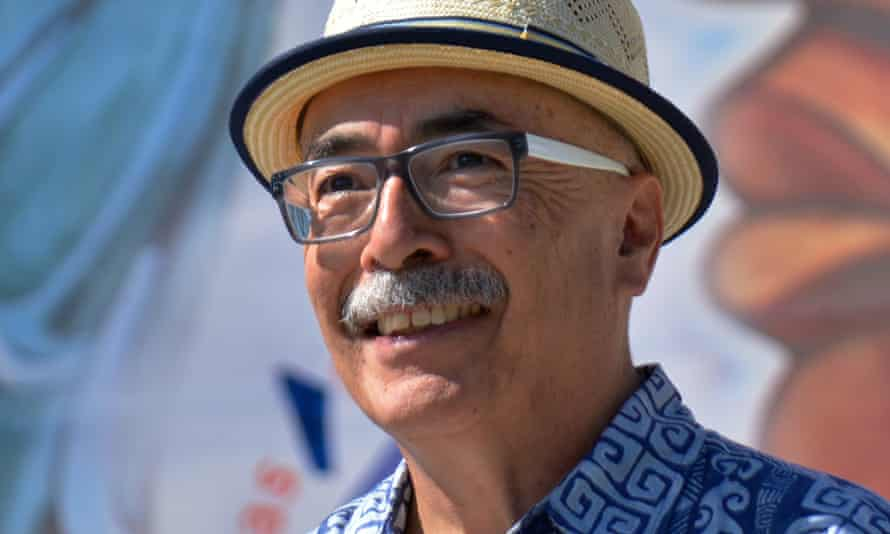 Juan Felipe Herrera: the incoming poet laureate.
