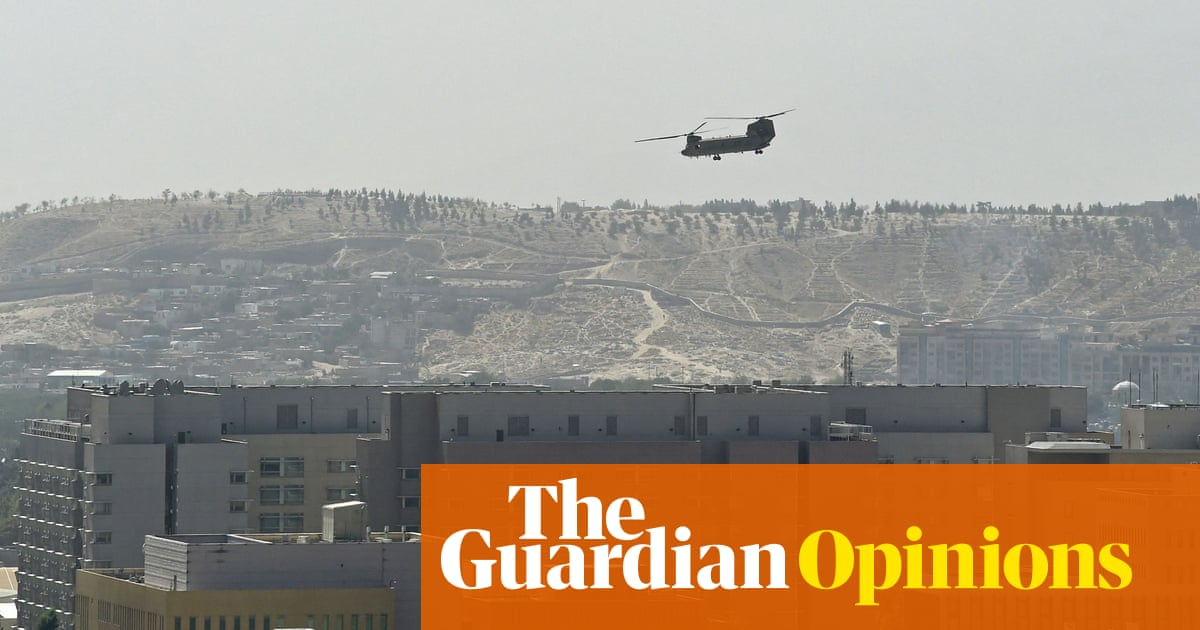Why the west will learn no lessons from the fall of Kabul