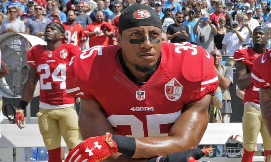 Eric Reid has knelt for the anthem for the past two seasons