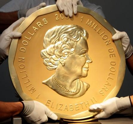 Big Maple Leaf gold coin