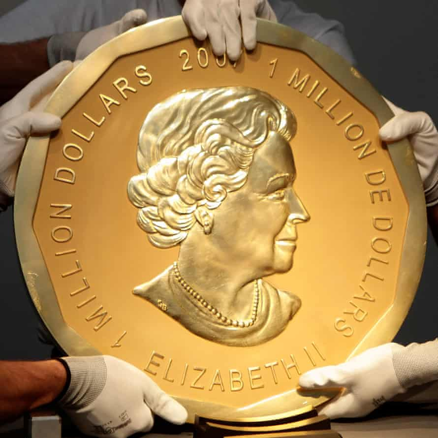 The 'Big Maple Leaf' coin