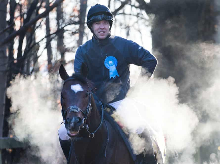 Health Secretary Matt Hancock out riding with the Clarehaven Stables in Newmarket, United Kingdom, November 2019