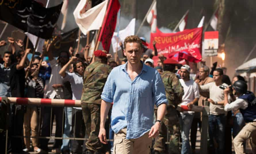 Spy master… Tom Hiddleston in The Night Manager