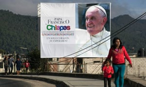 mexico pope francis visit chiapas