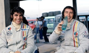 Jackie Stewart with François Cevert.