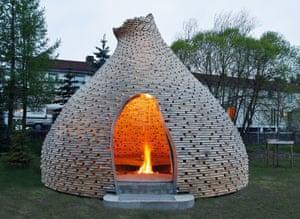 Fireplace for children, Trondheim, Norway, Haugen/Zohar Arkitekter, 2010