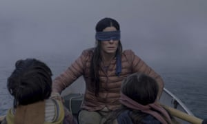Sandra Bullock in Bird Box.