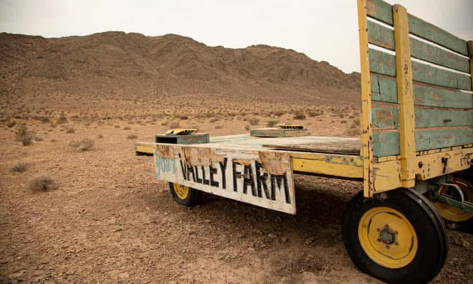 A family-owned pig farm that's operated in the city for generations has been pushed farther out into the desert.