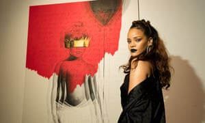 Out now … Rihanna's new album Anti was released with no fanfare