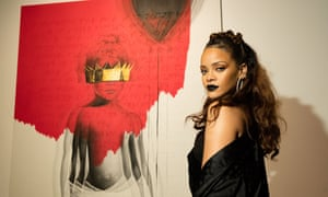 Which way now? … Rihanna sounds unsure about where she's heading musically.