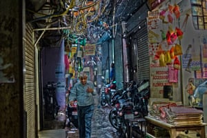 By Jake Davies. This was taken in Old Delhi, India, just as rain hit for the first time in a few weeks.