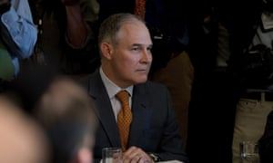 Scott Pruitt has made a string of decisions to either halt or scrap pollution rules.