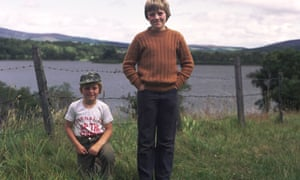 Tom Connolly with his older brother, Pip.