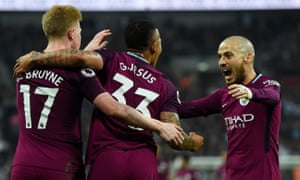 David Silva, right, has won three Premier League titles with Manchester City.
