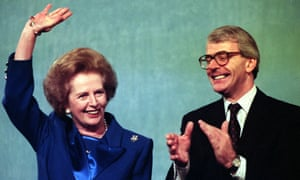 Thatcher  John Major  1991 Conservative party conference.