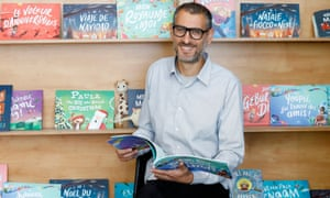 Asi Sharabi, the founder of Wonderbly children's books, at his office in east london.