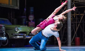 Zizi Strallen and Chris Trenfield in The Car Man by Matthew Bourne at Sadler's Wells in 2015. A good title 'gives people a way in' says Bourne.