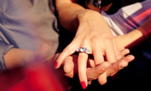 De Beers actively promoted surprise engagements because research showed men would spend more on a ring when a woman wasn't involved in the selection process.