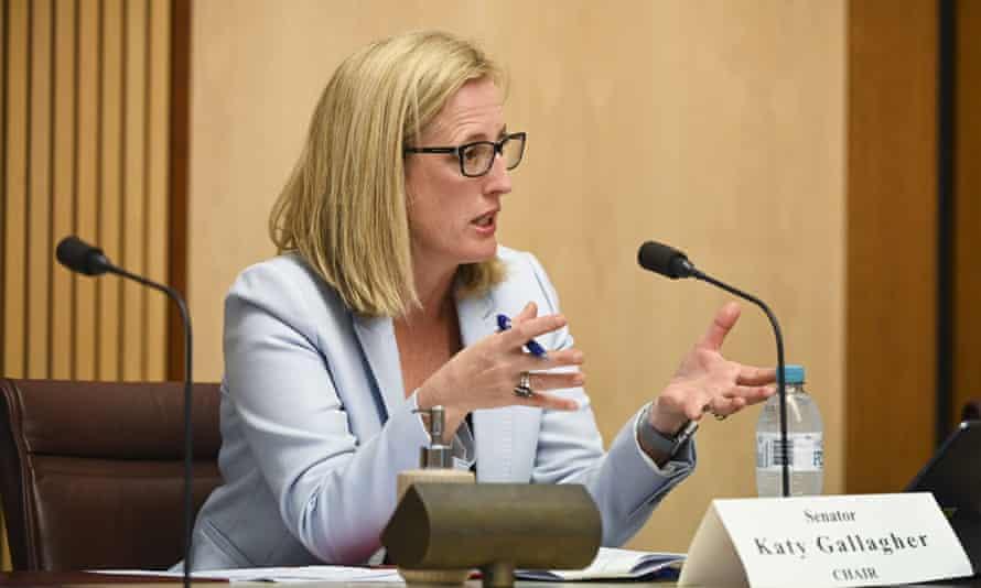 Labor senator Katy Gallagher
